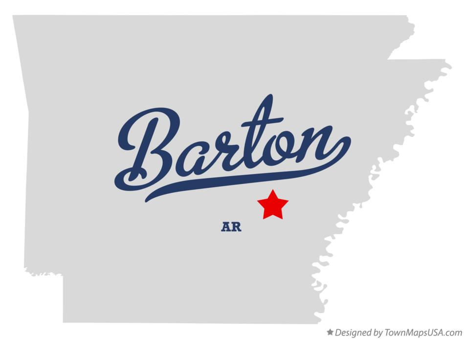 Map of Barton Arkansas AR