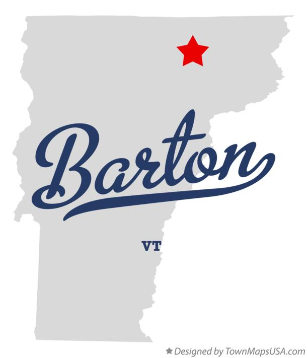 Map of Barton Vermont VT