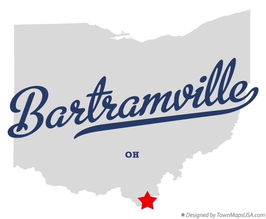 Map of Bartramville Ohio OH