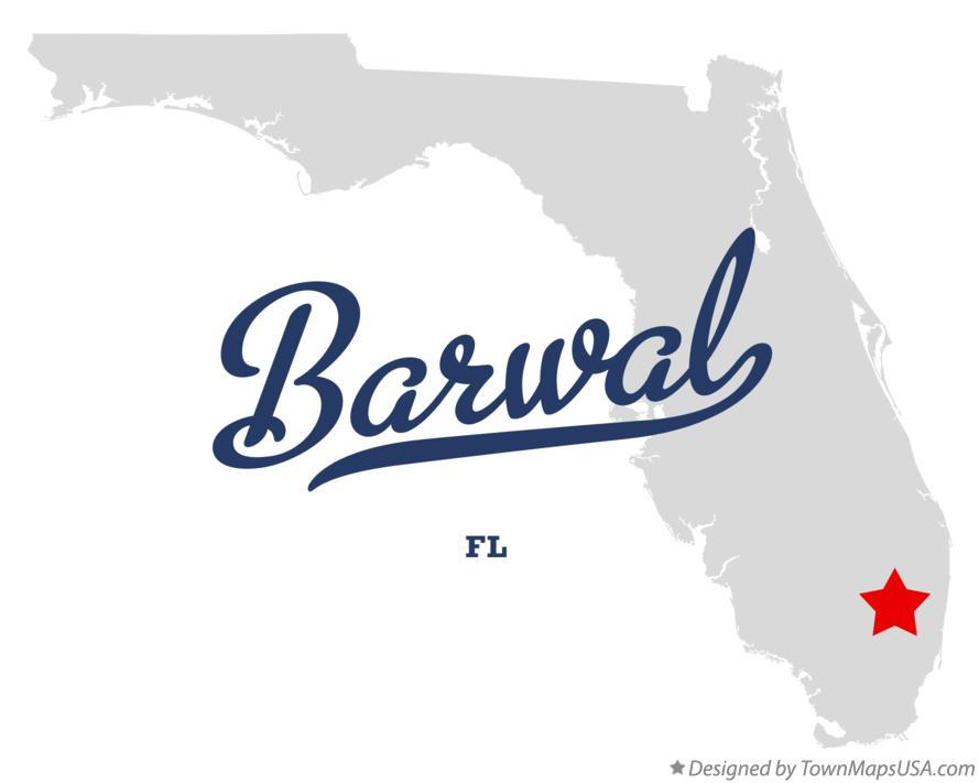 Map of Barwal Florida FL