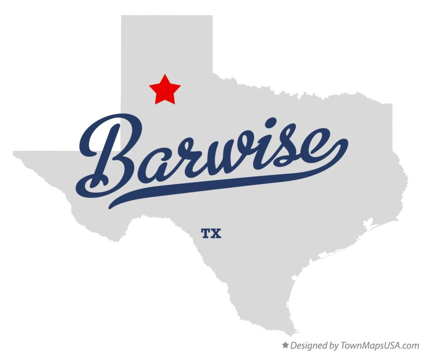Map of Barwise Texas TX