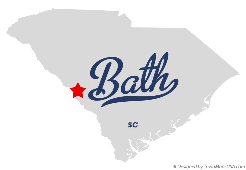 Map of Bath South Carolina SC