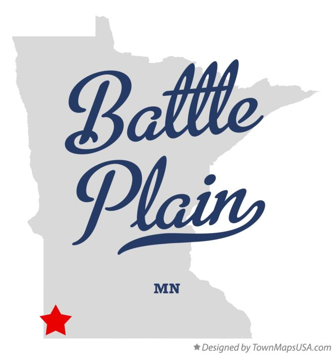 Map of Battle Plain Minnesota MN