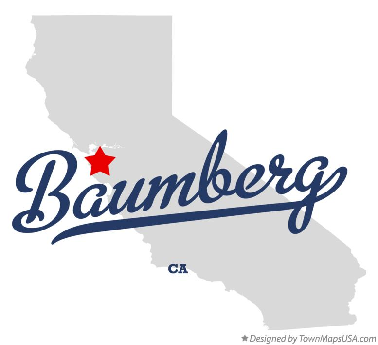 Map of Baumberg California CA