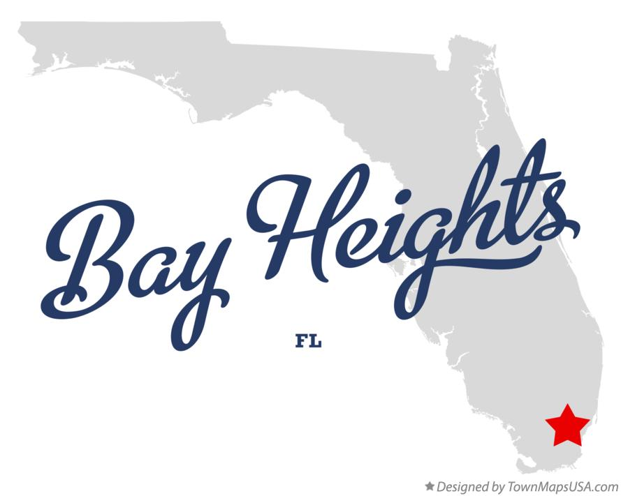 Map of Bay Heights Florida FL