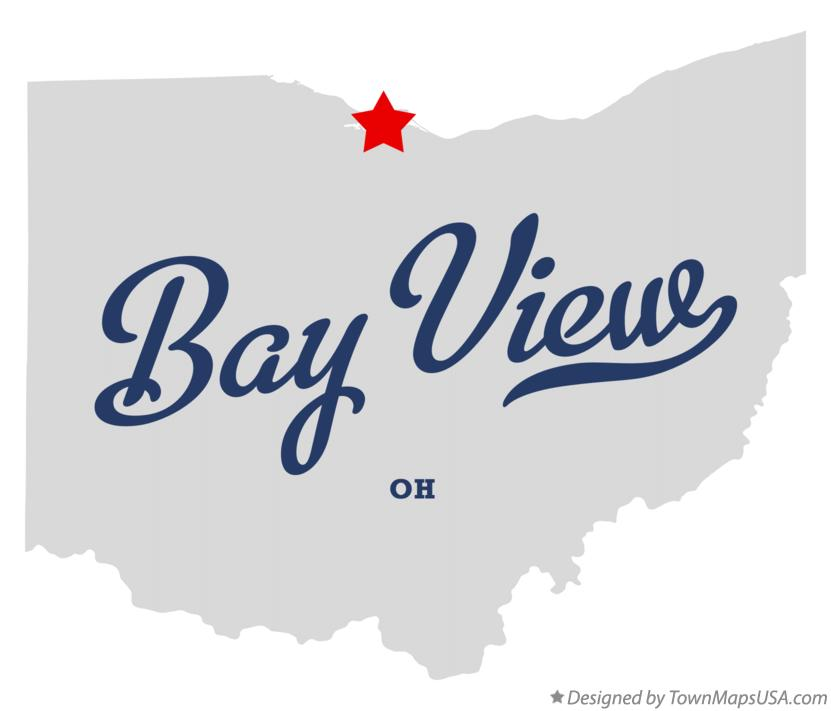Map of Bay View Ohio OH