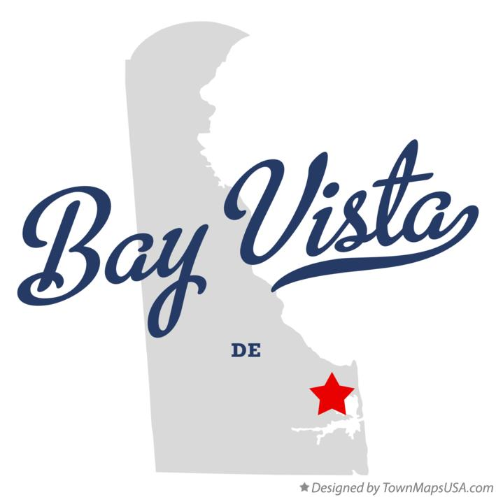 Map of Bay Vista Delaware DE