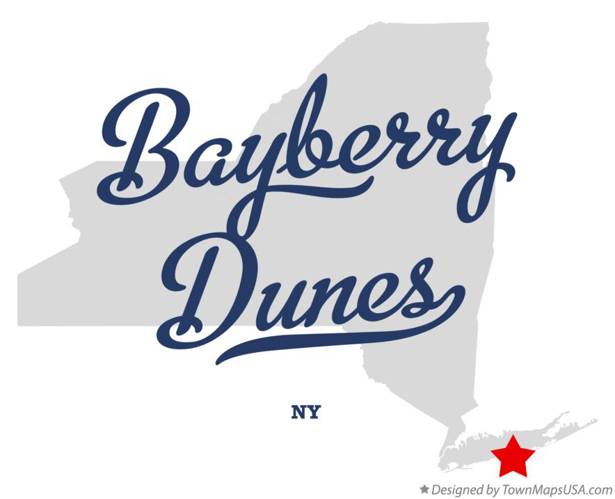 Map of Bayberry Dunes New York NY
