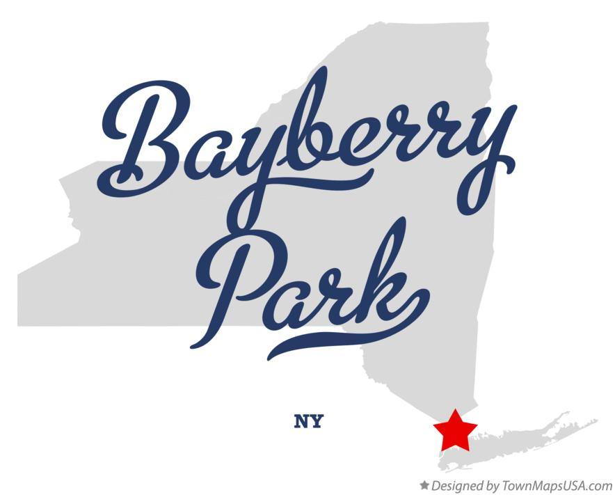 Map of Bayberry Park New York NY