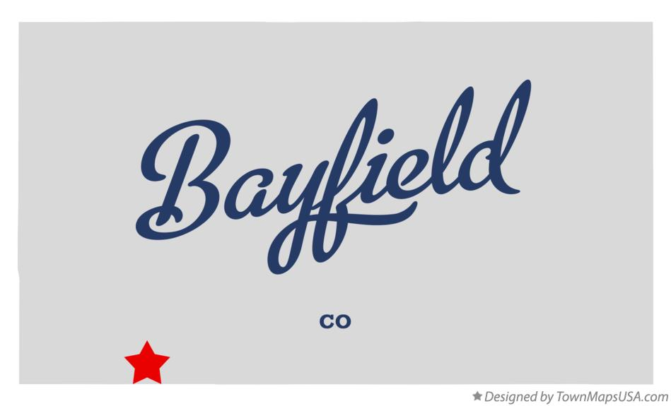 Map of Bayfield Colorado CO