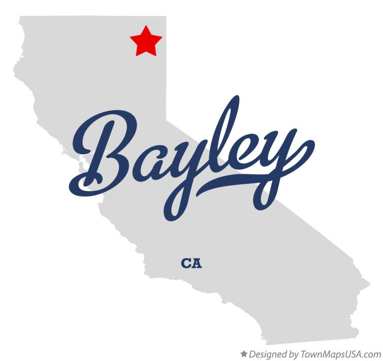Map of Bayley California CA