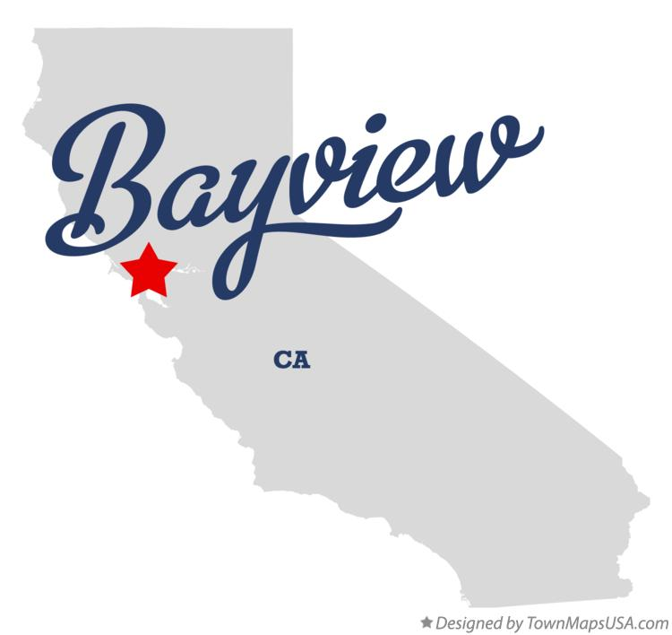 Map of Bayview California CA