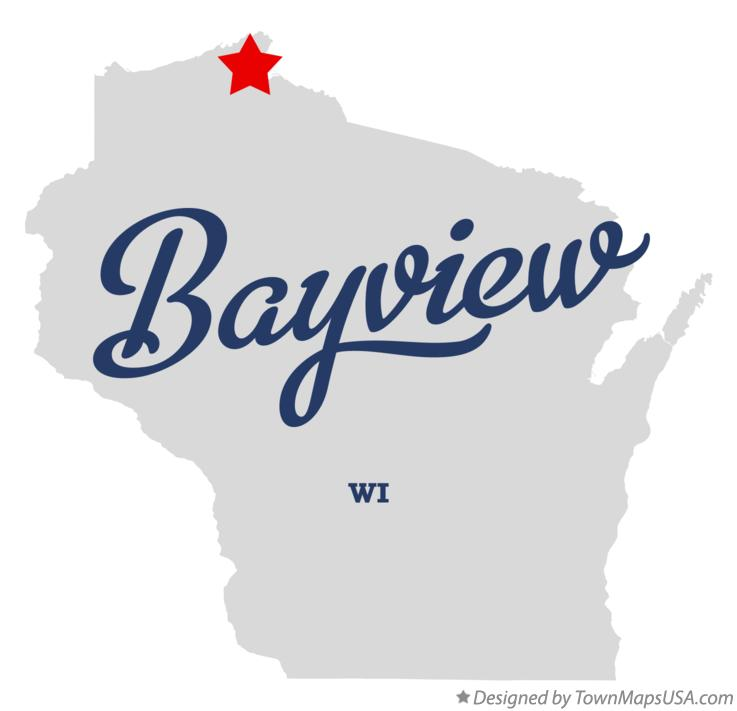 Map of Bayview Wisconsin WI