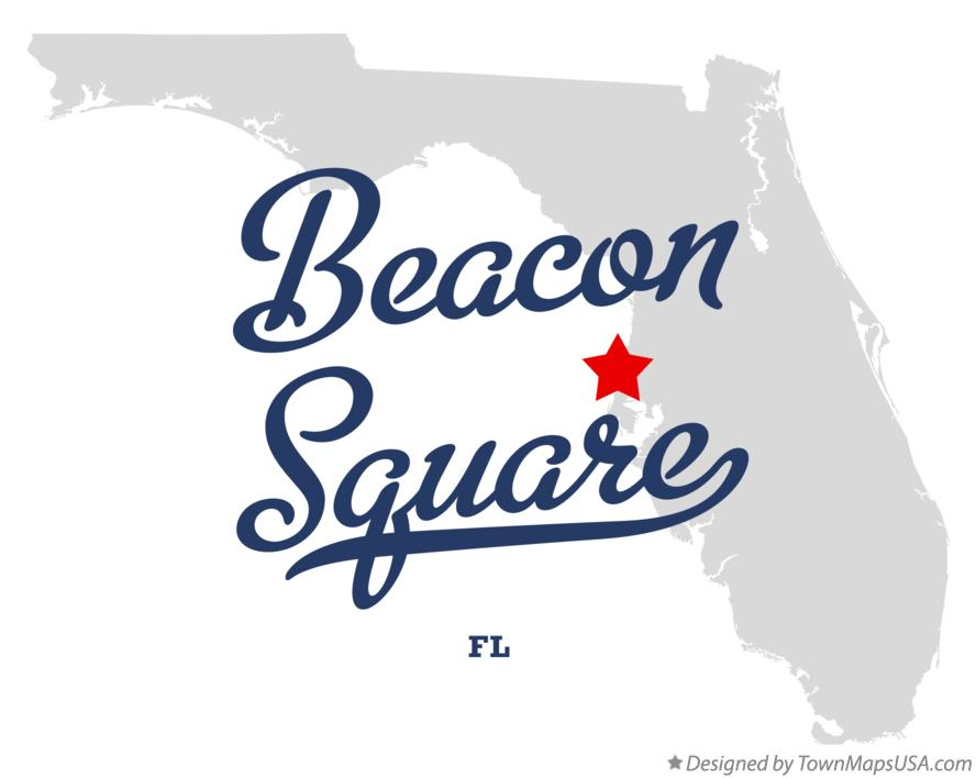 Map of Beacon Square Florida FL