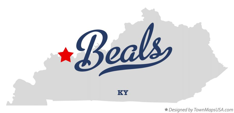 Map of Beals Kentucky KY