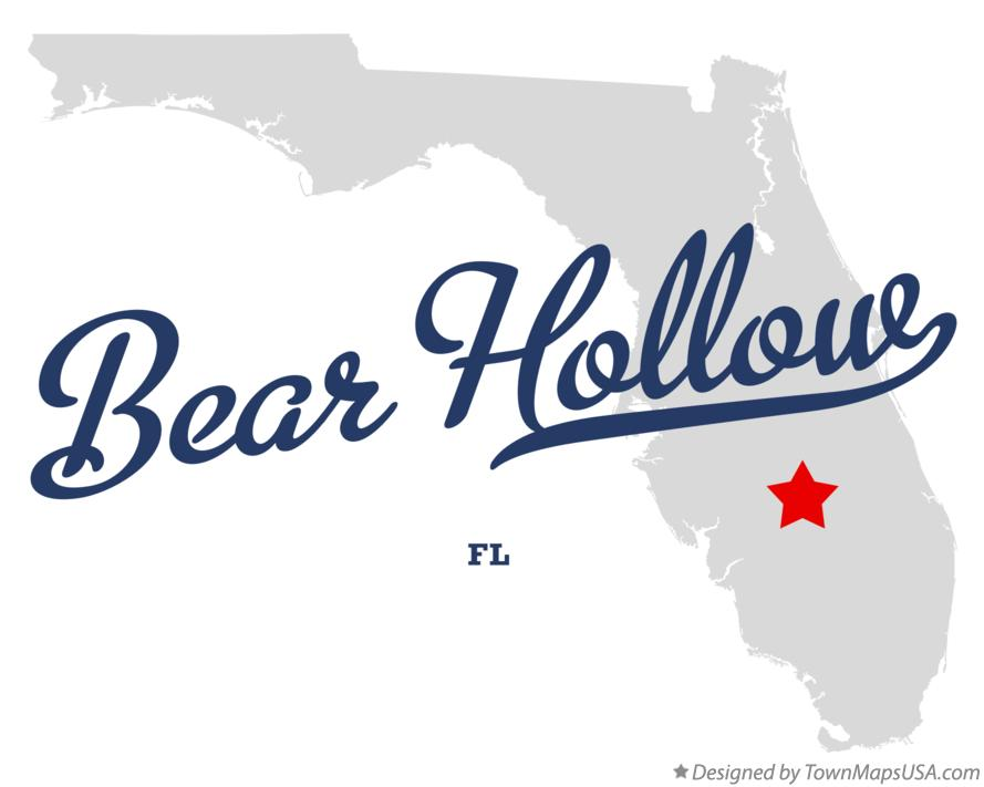 Map of Bear Hollow Florida FL