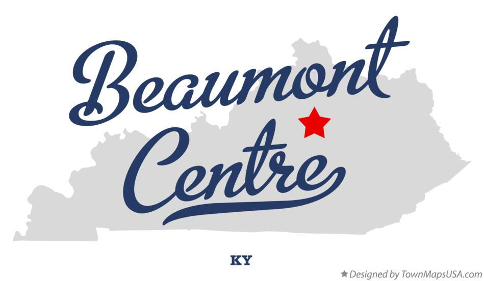 Map of Beaumont Centre Kentucky KY