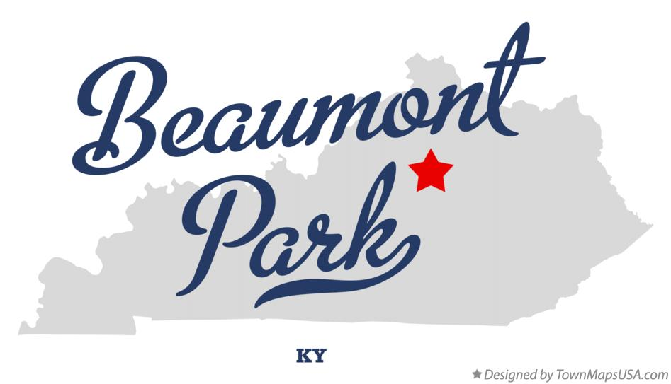 Map of Beaumont Park Kentucky KY