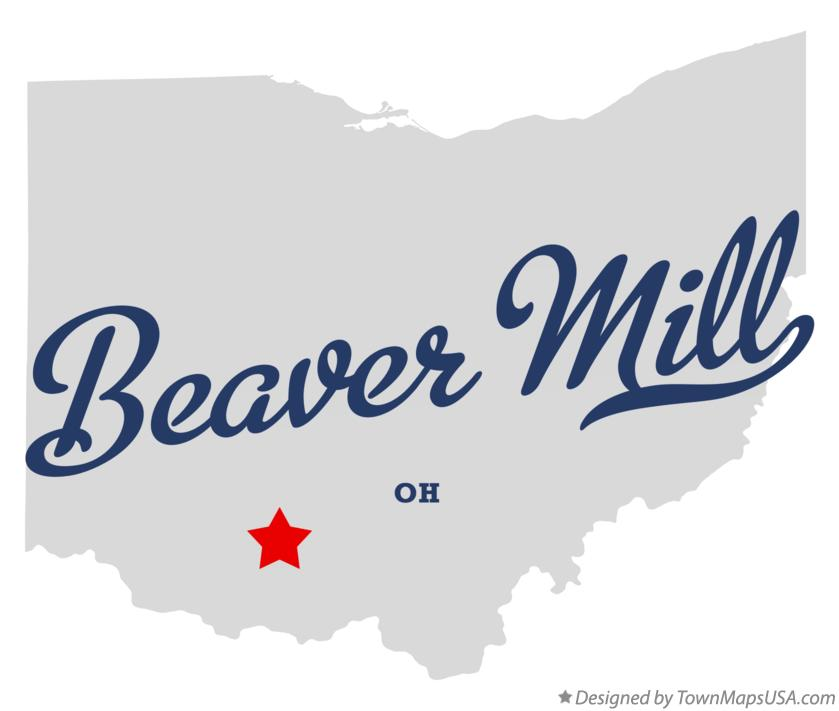 Map of Beaver Mill Ohio OH