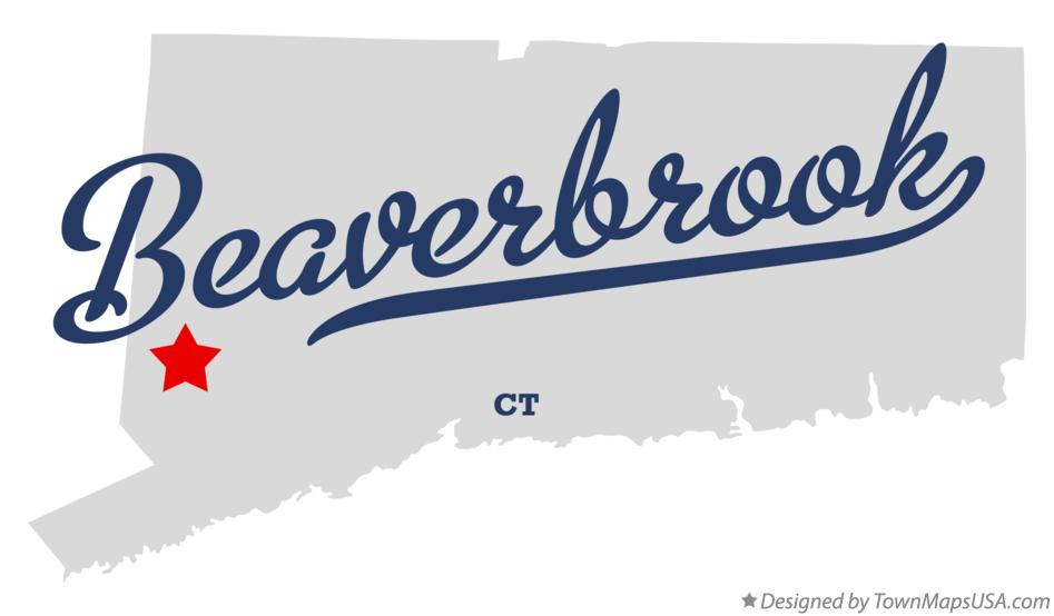 Map of Beaverbrook Connecticut CT