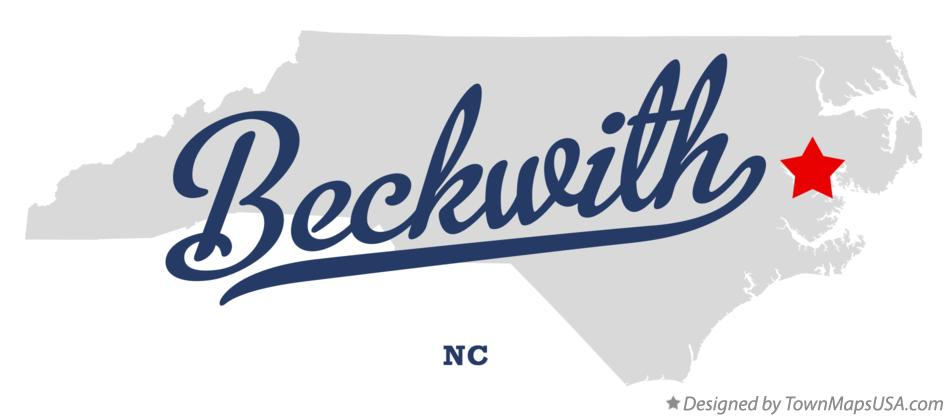 Map of Beckwith North Carolina NC