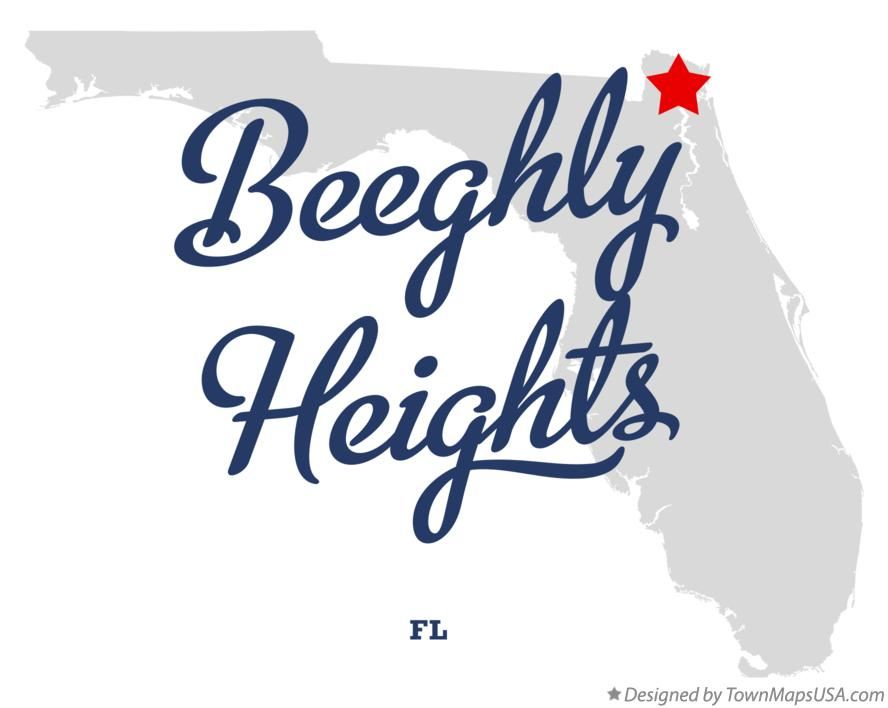 Map of Beeghly Heights Florida FL