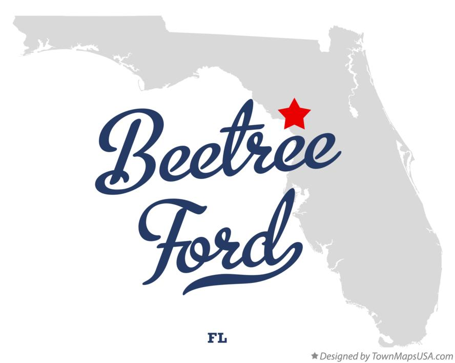 Map of Beetree Ford Florida FL