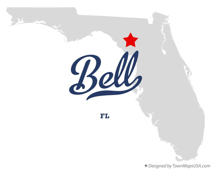 Map of Bell Florida FL