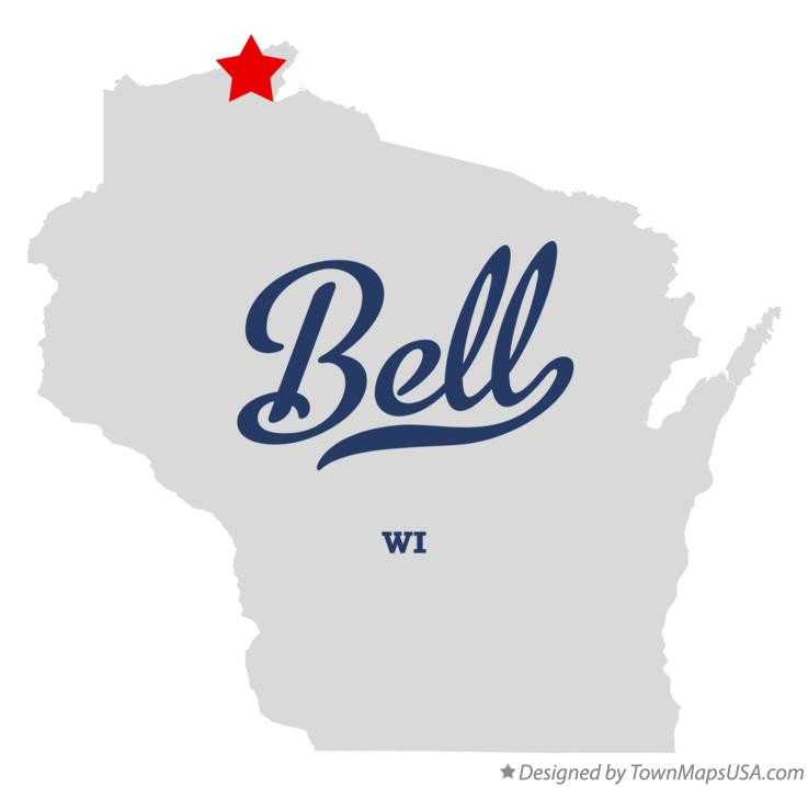 Map of Bell Wisconsin WI