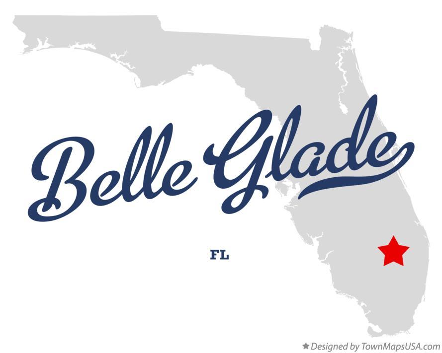 Belle Glade Florida Map.Map Of Belle Glade Fl Florida