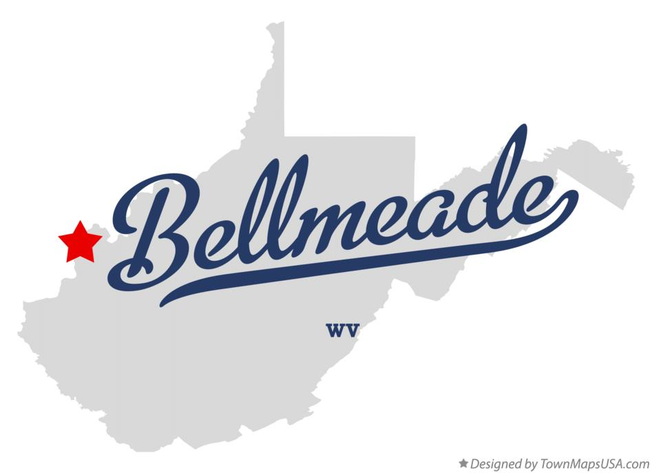 Map of Bellmeade West Virginia WV