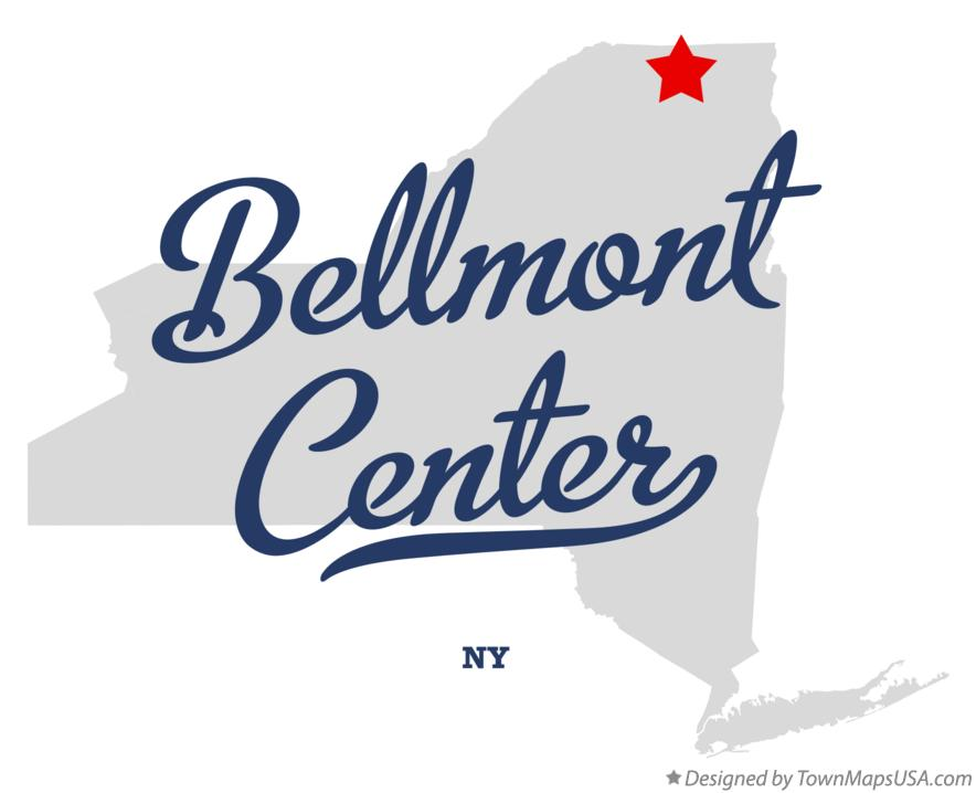 Map of Bellmont Center New York NY