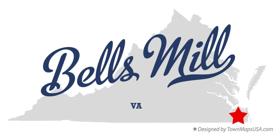 Map of Bells Mill Virginia VA