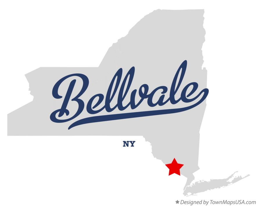 Map of Bellvale New York NY