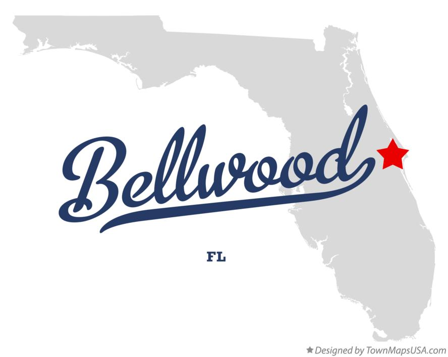 Map of Bellwood Florida FL
