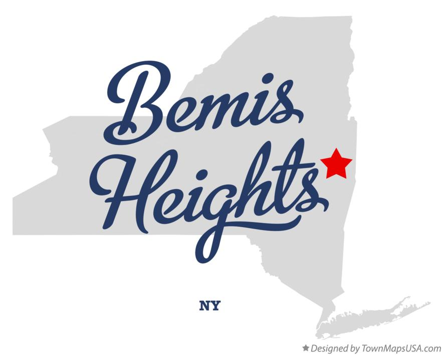 Map of Bemis Heights New York NY