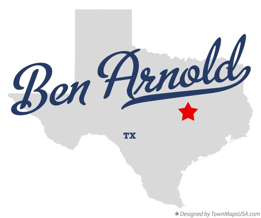 Map of Ben Arnold Texas TX