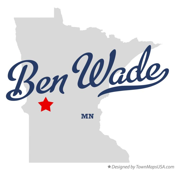 Map of Ben Wade Minnesota MN
