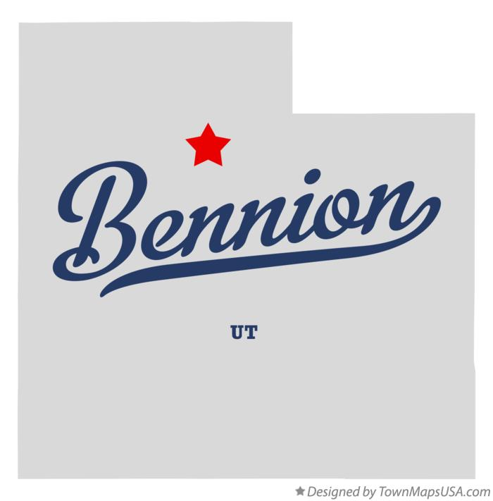 Map of Bennion Utah UT