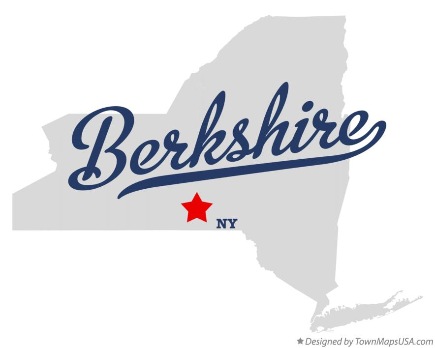 Map of Berkshire New York NY
