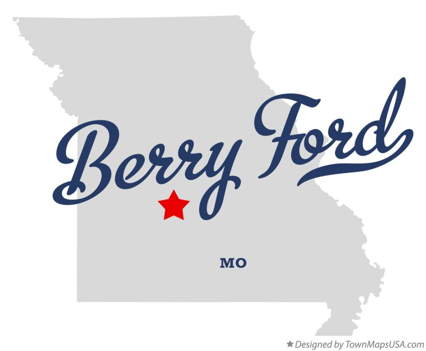 Map of Berry Ford Missouri MO
