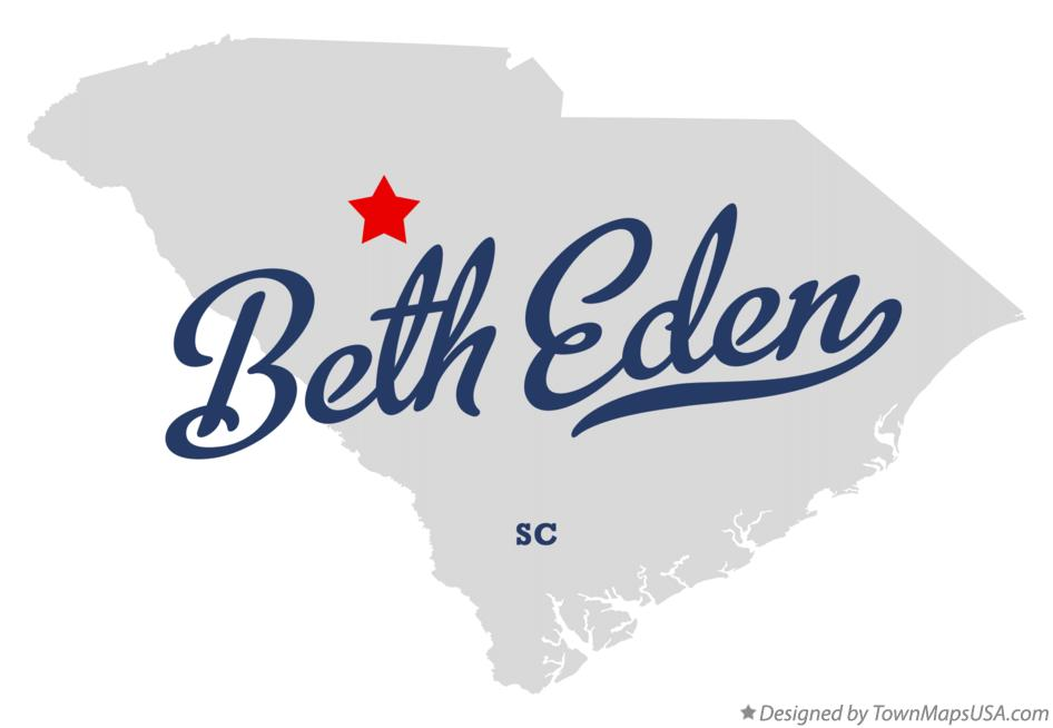 Map of Beth Eden South Carolina SC