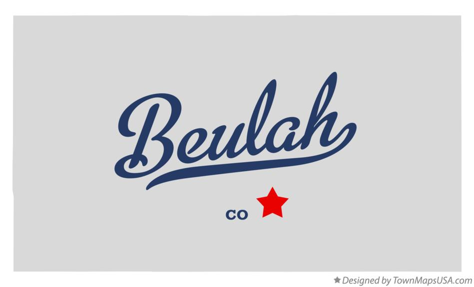 Map Of Beulah Co Colorado
