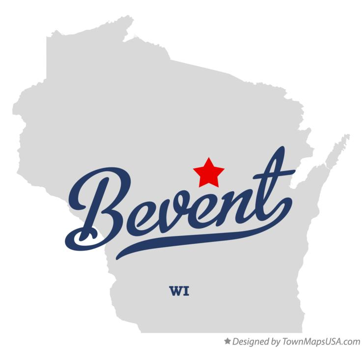 Map of Bevent Wisconsin WI