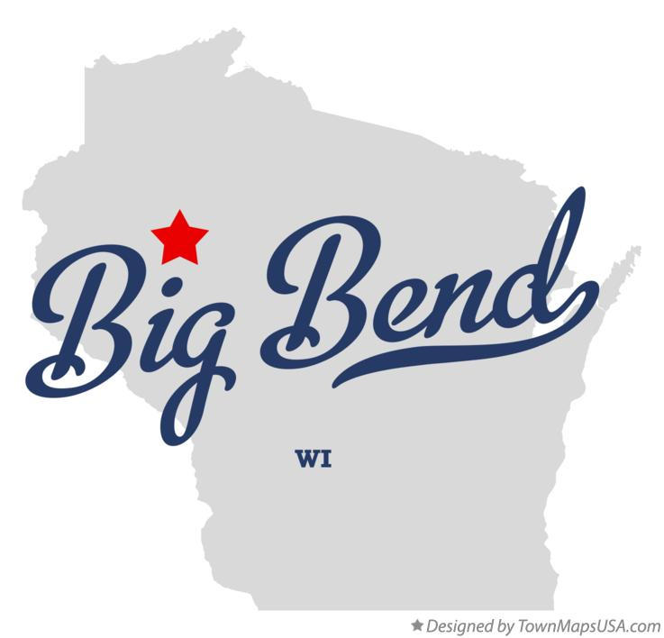 Map of Big Bend Wisconsin WI