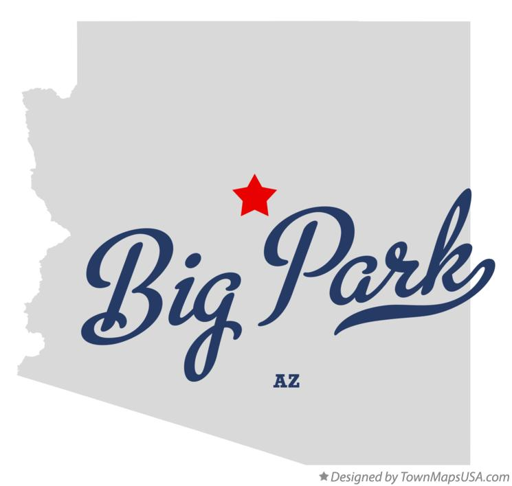 Map of Big Park Arizona AZ