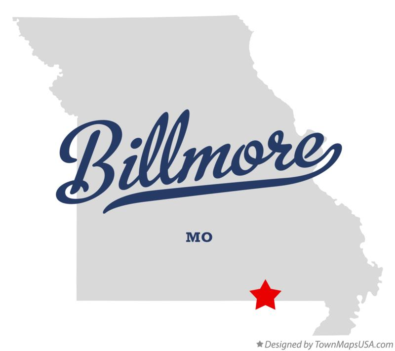 Map of Billmore Missouri MO