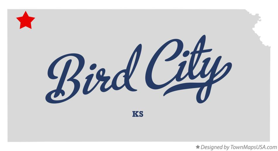 Map of Bird City Kansas KS
