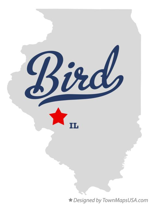Map of Bird Illinois IL