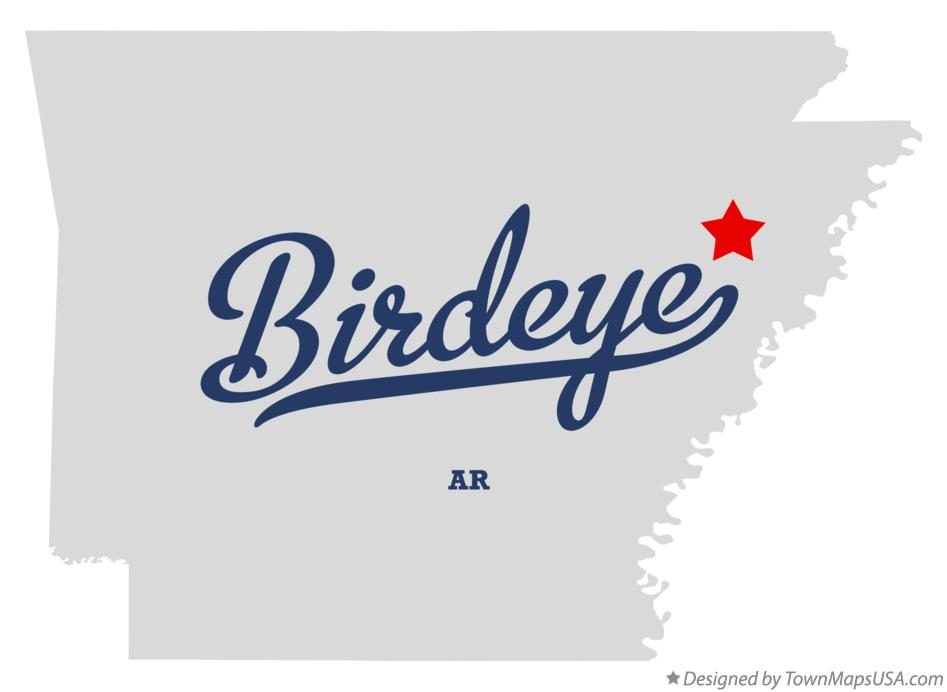 Map of Birdeye Arkansas AR